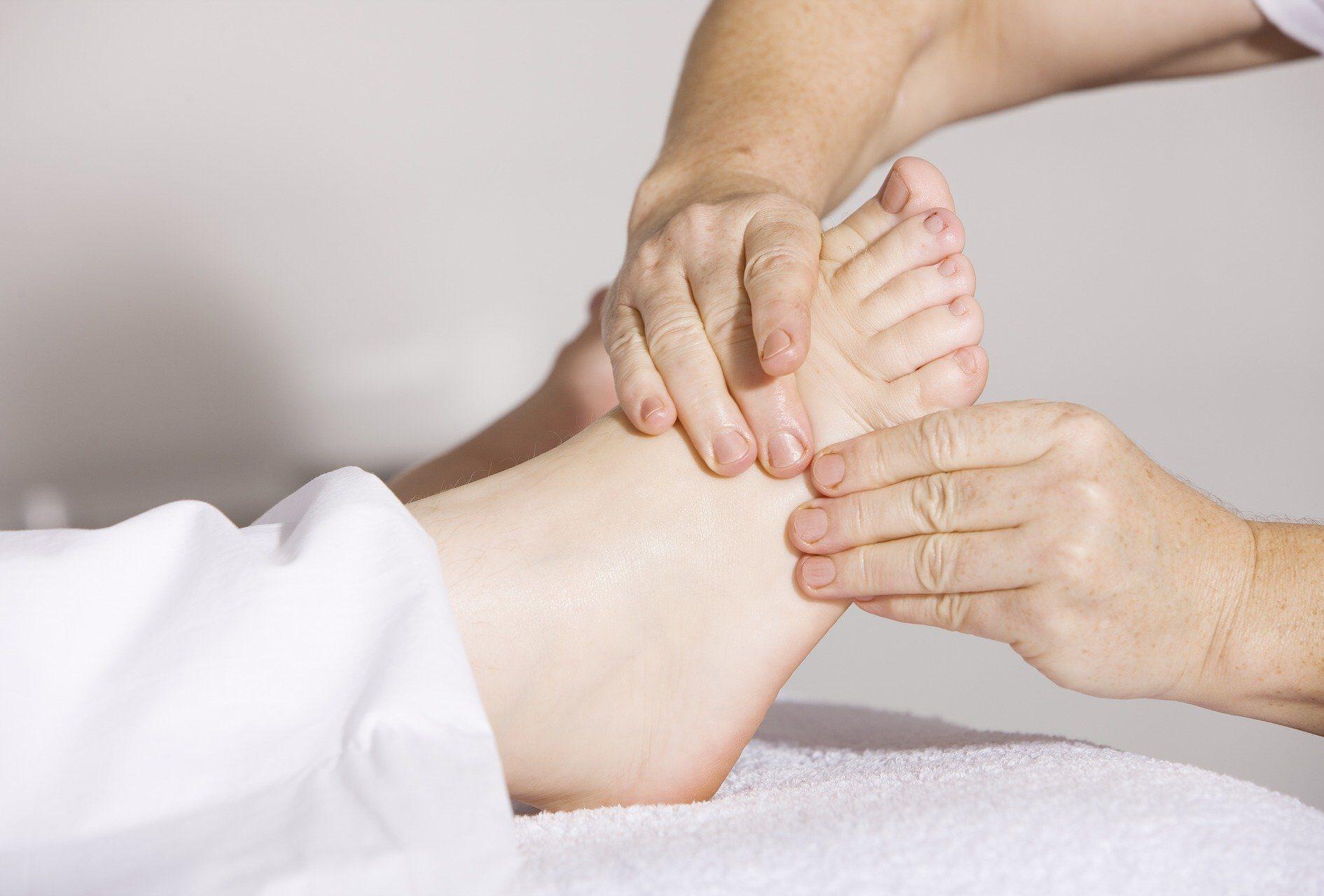 Physiotherapie Fuß Hände